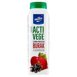 Acti Vege Jogurt czarna porzeczka burak z błonnikiem