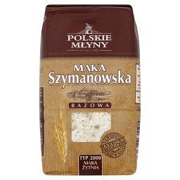 Mąka Szymanowska żytnia razowa typ 2000