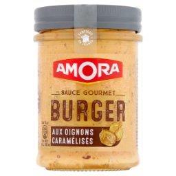 Sos burger z karmelizowaną cebulką