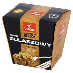 Lunch Box smak gulaszowy Danie błyskawiczne z kluskami pikantne