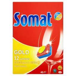 Gold Tabletki do mycia naczyń w zmywarkach  (40 sztuk)