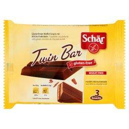 Twin Bar Bezglutenowe wafelki w czekoladzie 64,5 g (3 sztuki)