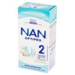 2 Mleko następne w proszku dla niemowląt powyżej 6. miesiąca