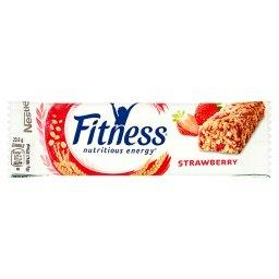 Fitness Strawberry Batonik zbożowy