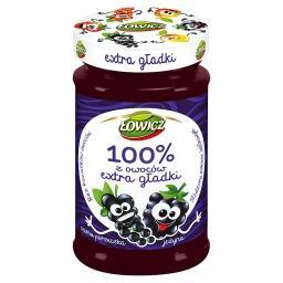 Dżem 100% z owoców extra gładki jeżyna czarna porzeczka