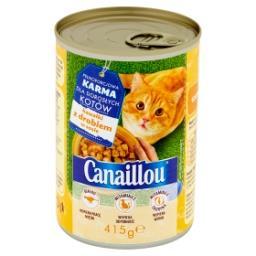 Pełnoporcjowa karma dla dorosłych kotów kawałki z drobiem w sosie