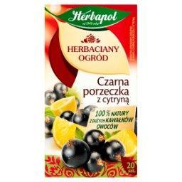Herbaciany Ogród Herbatka owocowo-ziołowa czarna porzeczka z cytryną 54 g