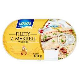 Filety z makreli w oleju