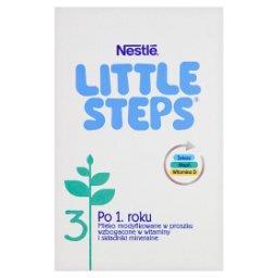 LITTLE STEPS 3 Mleko modyfikowane w proszku po 1. roku 600 g