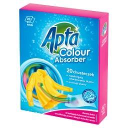 Chusteczki zapobiegające farbowaniu tkanin i usuwające plamy 20 sztuk