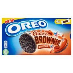 Ciastka kakaowe z nadzieniem o smaku ciasta Brownie  (4 saszetki)