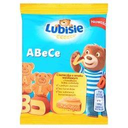 ABeCe Ciasteczka o smaku waniliowym z kawałkami białej czekolady