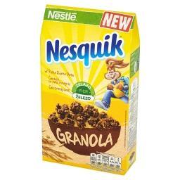 Nesquik Płatki śniadaniowe granola