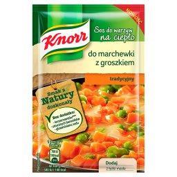 Sos do warzyw na ciepło do marchewki z groszkiem tradycyjny