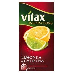 Inspirations Limonka and Cytryna Herbata owocowo-ziołowa  (20 torebek)