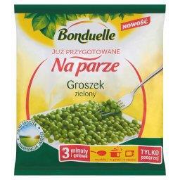 Już przygotowane na parze Groszek zielony