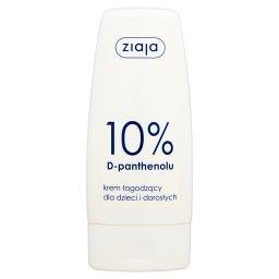 10% D-panthenolu Krem łagodzący dla dzieci i dorosłych