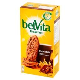 Breakfast Ciastka zbożowe o smaku kakaowym z kawałkami czekolady 300 g
