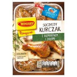 Pomysł na... Soczystego kurczaka w rozmarynie i zioł...