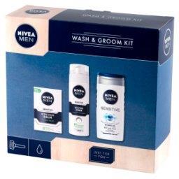 MEN Wash & Groom Kit Zestaw kosmetyków