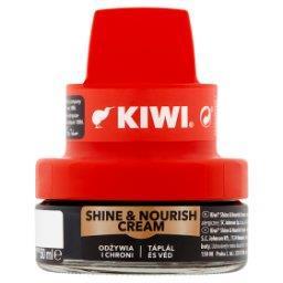 Shine & Nourish Cream Krem do obuwia czarny