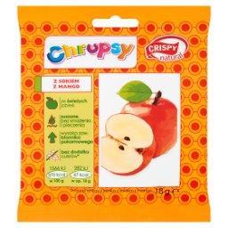 Chrupsy Suszone chipsy z jabłka z sokiem z mango