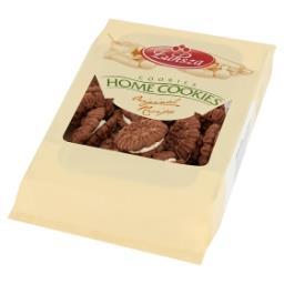 Firmowe ciemne Ciastka kakaowe przekładane kremem ko...