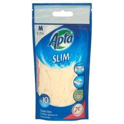 Slim Cienkie rękawiczki M 10 sztuk
