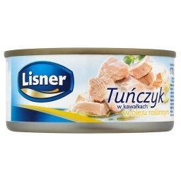 Tuńczyk w kawałkach w oleju roślinnym