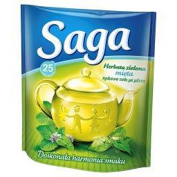 Herbata zielona mięta  (25 torebek)