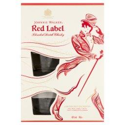 Red Label Blended Scotch Whisky  i 2 szklanki