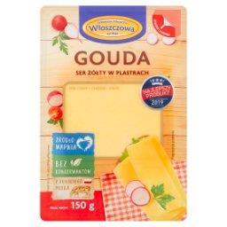 Gouda ser żółty w plastrach