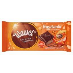Czekolada nadziewana Kasztanki kakaowe z wafelkami