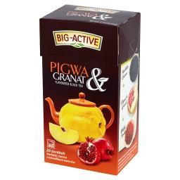 Pigwa & Granat Herbata czarna z kawałkami owoców 40 g (20 torebek)