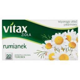 Zioła Rumianek Herbata ziołowa 30 g (20 torebek)