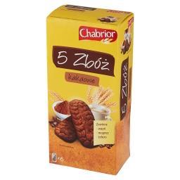 Ciastka zbożowe 5 zbóż kakaowe