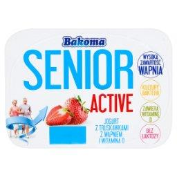 Senior Active Jogurt z truskawkami z wapniem i witaminą D