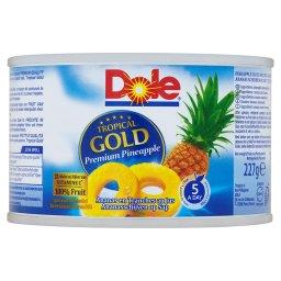 Tropical Gold Plastry ananasa w soku