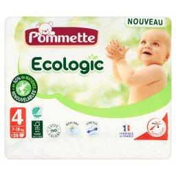 Ecologic Pieluszki dla dzieci rozmiar 4 7-18 kg