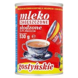 Mleko gostyńskie zagęszczone słodzone 8,0%