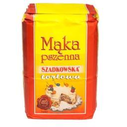 Mąka pszenna tortowa Szadkowska 1 kg