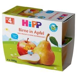 BIO Owocowa Chwila Jabłka-gruszki po 4. miesiącu 400 g