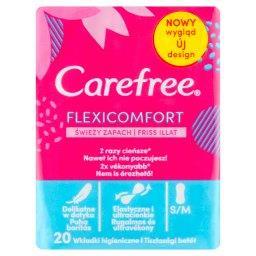 FlexiComfort with Fresh scent Wkładki higieniczne 20 sztuk