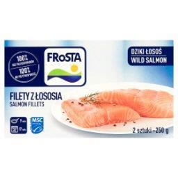 Filety z łososia  (2 sztuki)