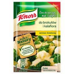 Sos do warzyw na ciepło do brokułów i kalafiora serowo-kremowy