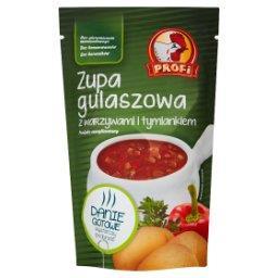 Zupa gulaszowa z warzywami i tymiankiem