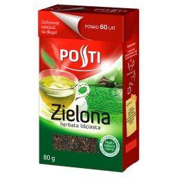 Zielona herbata liściasta