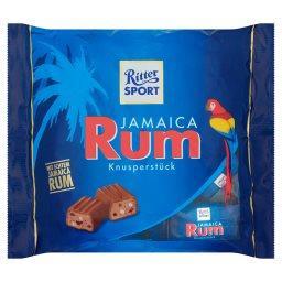 Jamaica Rum Czekolada pełna mleczna nadziewana  (12 sztuk)