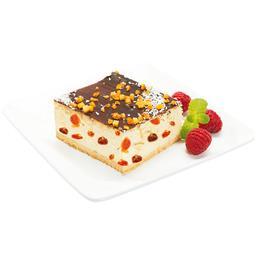 Ciasto sernik z rodzynkami