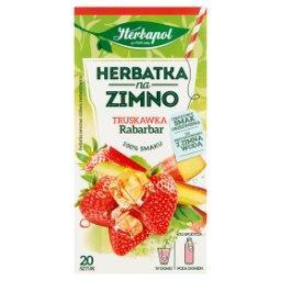 Herbatka na zimno truskawka rabarbar 36 g